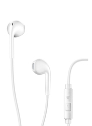 Cellularline Live Wired In-Ear Capsule Earphone with Mic, White