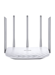 TP Link Wireless Dual Band Router AC1350, White/Grey