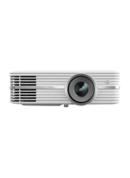 Optoma UHD40 4K Ultra HD LCD Portable Home Theatre Projector, 2400 Lumens, Built in ChromeCast, Silver