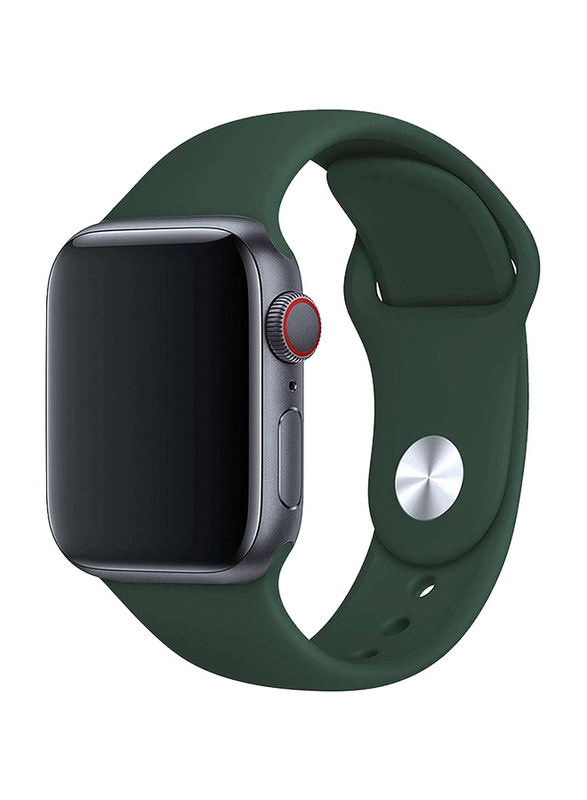 BeHello Premium Silicone Strap for Apple Watch 42mm/44mm, Green