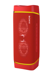 Sony SRS-XB33 Extra Bass Portable Bluetooth Speaker, Coral Red