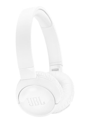JBL T600BT Wireless On-Ear Active Noise Cancelling Headphones, White
