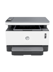 HP Neverstop Laser MFP 1200w 4RY26A All-in-One Printer, White/Black