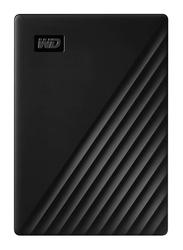 Western Digital 5TB HDD My Passport External Portable Hard Drive, USB 3.2, WDBPKJ0050BBK-WESN, Black