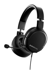 Steelseries Arctis 1 On-Ear Noise Cancelling PlayStation Gaming Headset, with External Mic, Black