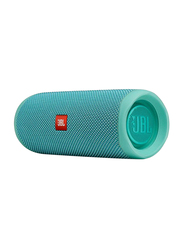 JBL Flip 5 Water Resistant Portable Speaker, Teal
