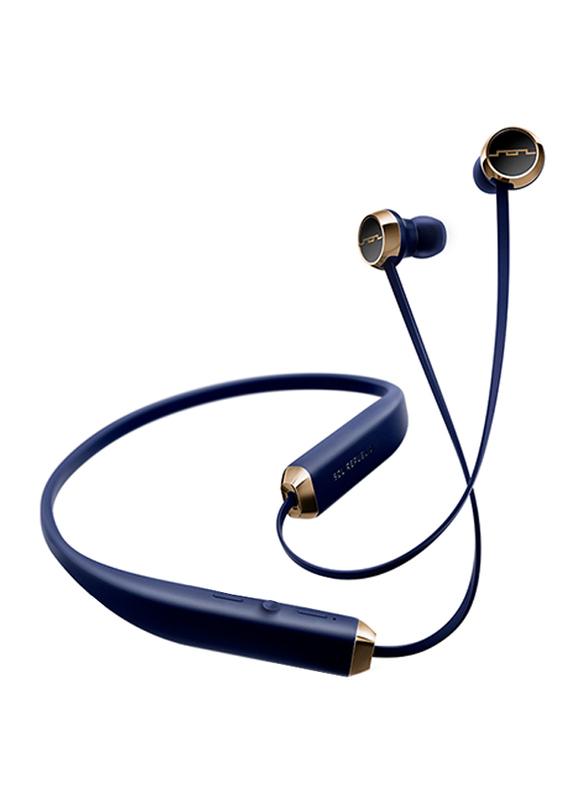 Sol Republic Shadow Bluetooth In-Ear Earphones, Navy Blue
