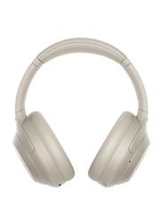 Sony WH-1000XM4 Wireless On-Ear Noise Canceling Headphones, Silver