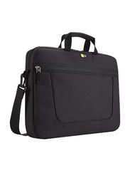 Case Logic 15.6-inch Top Loading Laptop Messenger Bag, Black