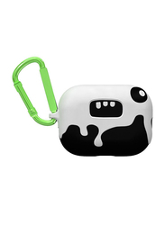 Case-Mate Ozzy Creaturepods Case for Apple AirPods Pro, Black/White