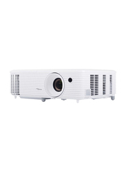 Optoma Technology HD27 FHD DLP Wireless Portable Home Theater Projector, 3200 Lumens, Built in HDCast, White