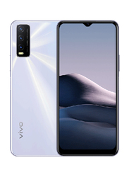 Vivo Y20s 128GB Dawn White, 8GB RAM, 4G LTE, Dual Sim Smartphone
