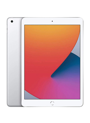 Apple iPad 8th Gen 2020 128GB Silver 10.2 inch Tablet, Without FaceTime, 4GB RAM, Wi-Fi Only