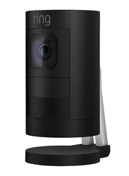 Ring Indoor Stick Up Surveillance Camera with Battery, 1080p, Full HD, Black