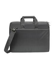 Rivacase Central 15.6-inch Shoulder Laptop Bag, Grey