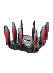 TP-Link Archer Gaming Mu-mimo Tri-Band Router AC5400, Black/Red