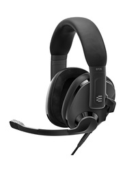 EPOS H3 Wired Closed Acoustic Gaming Headset, Black