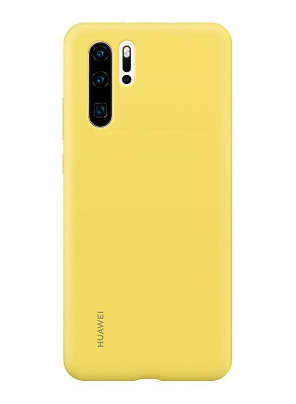 Huawei Back Case Cover for Huawei P30 Pro Mobile Phone, Yellow