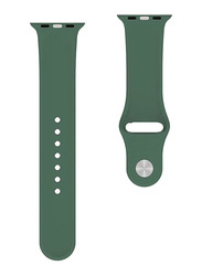 BeHello Premium Silicone Strap for Apple Watch 42mm/44mm, Green