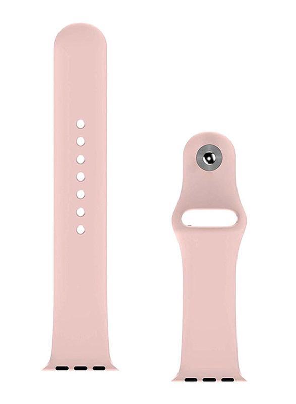 BeHello Premium Silicone Strap for Apple Watch 38mm/40mm, Pink
