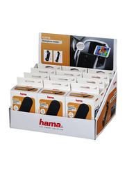 Hama Universal Flipper Display Car Holder for Smartphone, 12 Pieces, Black