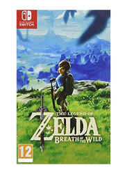 The Legend of Zelda Breath of the Wild for Nintendo Switch by Nintendo
