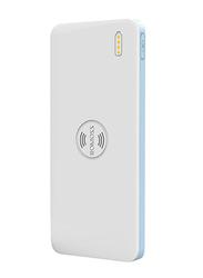 Romoss 5000mAh Freemos 5 WS05 Wireless Fast Charging Power Bank, White