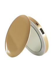 Sanho 3000mAh HyperJuice Pearl PL3000 Power Bank, Gold