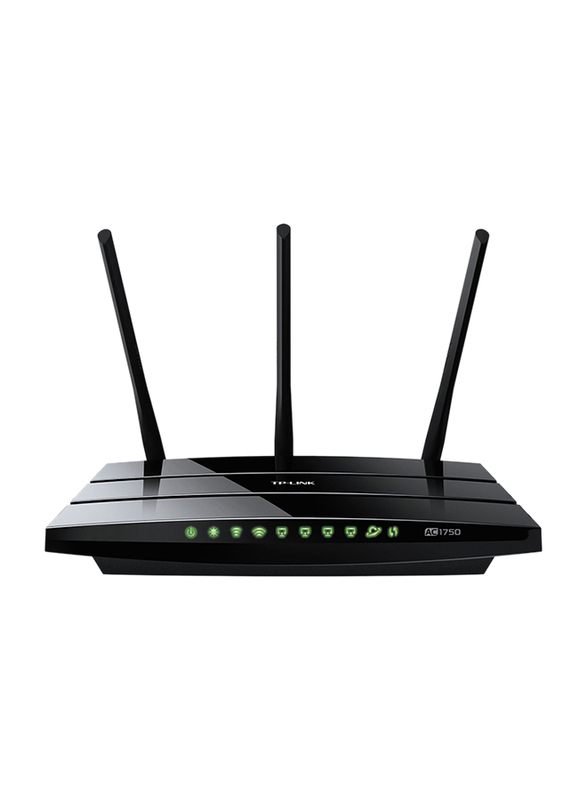 TP Link Wireless Dual Band Gigabit Router AC1750, Black