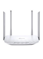 TP Link Wireless Dual Band Router AC1200, White/Grey