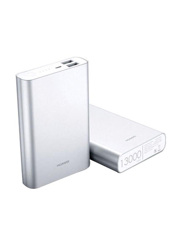 Huawei 13000mAh HUW-PB-13000M Fast Charging Power Bank, Silver