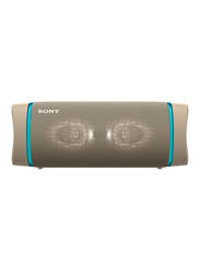 Sony SRS-XB33 Extra Bass Portable Bluetooth Speaker, Taupe