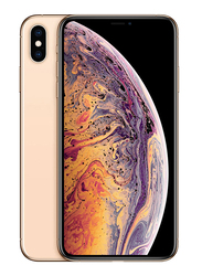 Apple iPhone XS 64GB Gold, Without FaceTime, 4GB RAM, 4G LTE, Dual Sim Smartphone