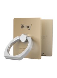Iring Link Phone Cradle and Stand for Wireless Chargers, Gold