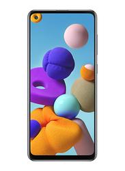 Samsung Galaxy A21s 128GB Black, 4GB RAM, 4G LTE, Dual Sim Smartphone