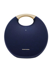 Harman Kardon Onyx Studio 6 IPX7 Waterproof Portable Bluetooth Speaker, 38W, Blue