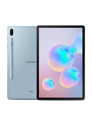 Samsung Galaxy Tab S6 128GB Cloud Blue 10.5-inch Tablet, 6GB RAM, 4G LTE