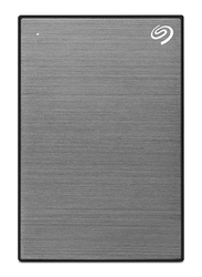 Seagate 2TB HDD Backup Plus Slim External Portable Hard Drive, USB 3.0, STHN2000406, Space Grey