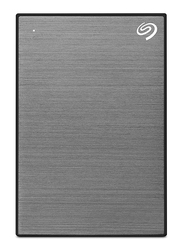 Seagate 1TB HDD Backup Plus Slim External Portable Hard Drive, USB 3.0, STHN1000405, Space Grey