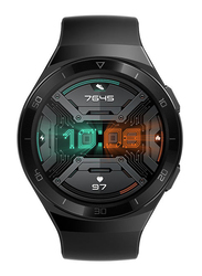 Huawei GT 2e - 46mm Smartwatch, GPS, Black Stainless Steel Case with Graphite Black Band