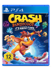 Crash Bandicoot 4 Video Game for PlayStation 4 (PS4) by Activision Blizzard