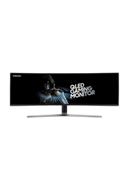 Samsung 49 Inch Curved QLED Gaming Monitor, Black
