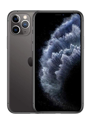Apple iPhone 11 Pro 256GB Space Gray, Without FaceTime, 4GB RAM, 4G LTE, Dual Sim Smartphone