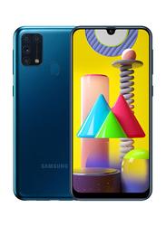 Samsung Galaxy M31 128GB Blue, 6GB RAM, 4G LTE, Dual Sim Smartphone