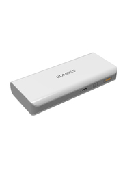 Romoss 10000mAh Solo 5 Fast Charging Power Bank, White