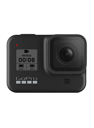 GoPro Hero 8 Action Camera, 12 MP, 4K, Water Resistant, Black