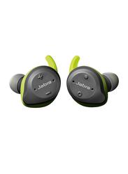 Jabra Elite Sport True Wireless Bluetooth In-Ear Earbuds, Grey