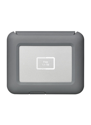 LaCie 2TB HDD DJI Copilot Boss STGU2000400 External Portable Hard Drive, USB 3.1, Grey