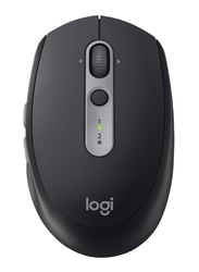Logitech M590 Silent Wireless Optical Mouse, Graphite, Black