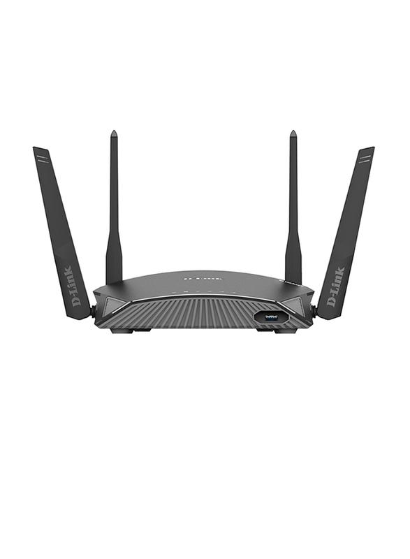 D-Link Exo DL-DIR2660 Smart Mesh Wi-Fi Router AC2600, Black